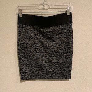 Wet Seal Mini Leopard Skirt